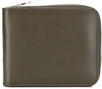 AMI Paris Ami De Coeur Puller Small Zipped Wallet