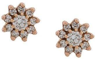 Dana Rebecca Designs diamond and 14kt rose gold Jennifer Yamina stud earrings