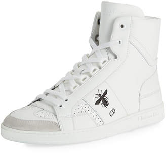 Christian Dior D Bee High-Top Sneakers