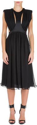 Alberta Ferretti Sleeveless Midi Dress