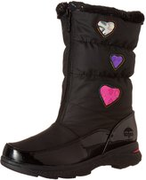 totes Girls' Heartful Winter Snow Boots