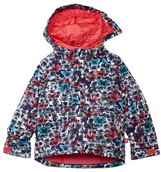 Burton Classic Jacket (Toddler/Little Kids) (Multicolor Butterfly) Kid's Clothing