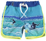 Name It Piped Surfing Long Swim Shorts