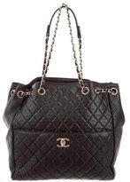Chanel Lambskin Drawstring Bag
