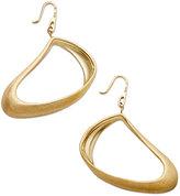 SIS by Simone I Smith 18k Gold over Sterling Silver Earrings, Freeform Dangle Earrings