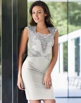 Lipsy Love Michelle Keegan Sequin Detail Bodycon Dress