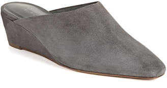 Vince Baxley Suede Wedge Mules