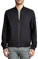 Hugo Boss Boss Orange Oruce Lightweight Bomber Jacket, Black