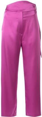 Nanushka Rosebud slip trousers