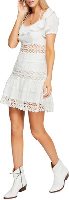 Free People Lace Mini Dress