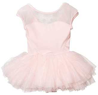 Bloch Cap Sleeve Tutu Dress (Toddler/Little Kids/Big Kids)