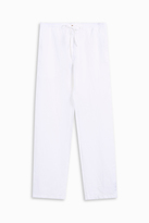 120% Lino Draw String Loose Trousers