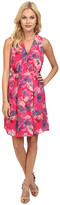 Rebecca Taylor Sleeveless Flowerpress Dress