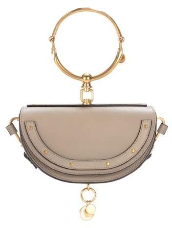 Chloé Nile Minaudière leather crossbody bag