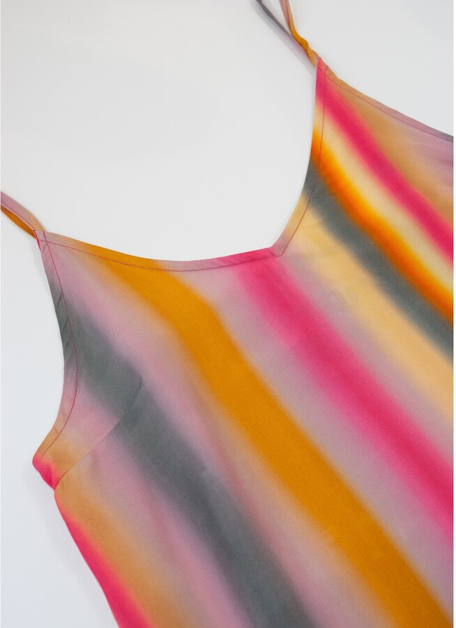 Thumbnail for your product : Komodo 100 Club Cupro Top - Stripe