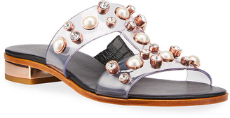 Sophia Webster Dina Gem Flat Sandals