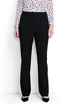 Lands' End Women's Plus Size Wear to Work Wide Leg Pants-Dark Navy
