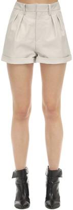Isabel Marant Fabot Leather Shorts