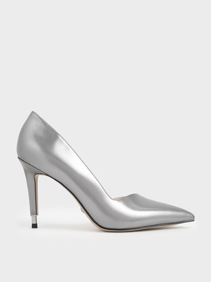 Charles & Keith Leather D'Orsay Pumps