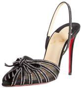Christian Louboutin Araborda Embellished Slingback Sandal