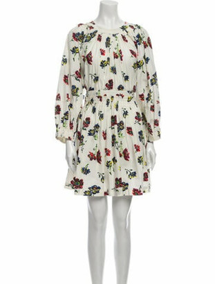 Ulla Johnson Floral Print Mini Dress