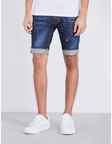 Dsquared2 Slim Distressed Denim Shorts