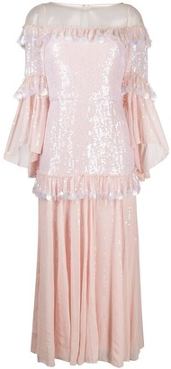 Temperley London Sequin Embellished Dress
