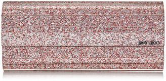 Jimmy Choo SWEETIE Viola Mix Speckled Glitter Acrylic Clutch Bag