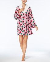Hello Kitty Winter Dreams Fleece-Collar Robe