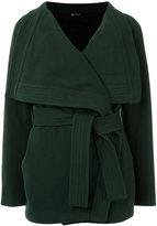 Uma | Raquel Davidowicz - tie fastening coat - women - Wool - 40