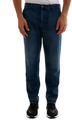 Gucci Classic Logo Embroidered Tapered Jeans