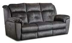 "Southern Motion Vista 92"" Pillow Top Arm Reclining Sofa"