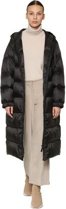 Max Mara 'S Hooded Nylon Down Coat