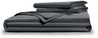 Pillow Guy Full/Queen Luxe Soft & Smooth Tencel Duvet Cover Set - Charcoal