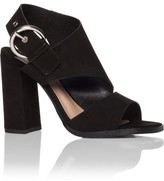 Tony Bianco Dumont Block Heel With Silver Side Clasp
