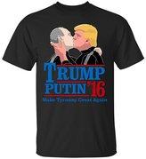 Emily Gift Shop Donald Trump Shirt-Kiss Putin Funny T-Shirt-Unisex