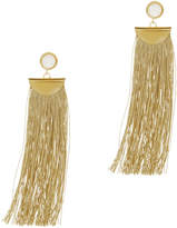 Lizzie Fortunato Gold Shoulder Duster Earrings