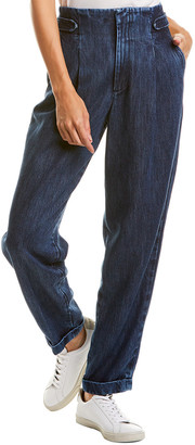 Closed Bay Dark Blue Straight Leg