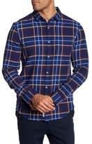 Original Penguin Slim Fit Long Sleeve Flannel Shirt