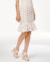 Endless Rose Lace Peplum Skirt