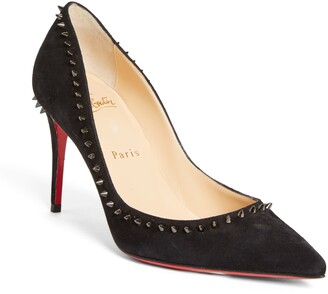 Christian Louboutin Anjalina Studded Pointed Toe Pump