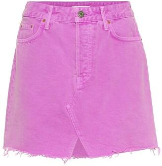 GRLFRND The Milla denim miniskirt