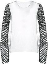 Dries Van Noten sheer longsleeved blouse