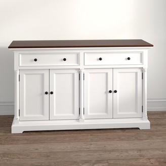 "Kelly Clarkson Home Vivien 57.09"" Wide 2 Drawer Sideboard"