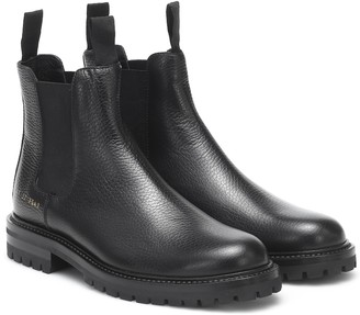 Common Projects Chelsea leather ankle boots