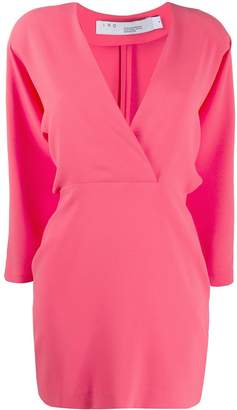 IRO wrap style short dress