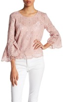 Romeo & Juliet Couture Beaded Lace Blouse