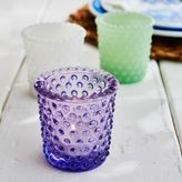 Sur La Table Hobnail Glass Candle Holder