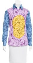 Etro Long Sleeve Button-Up