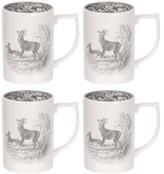 Spode Delamere Rural Mugs (Set of 4)